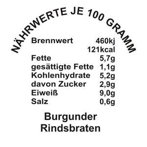 Burgunder-Rindsbraten