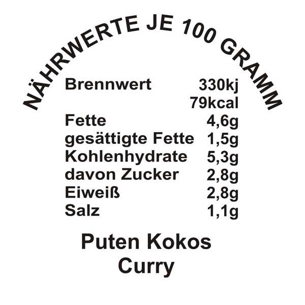 Puten-Kokos-Curry